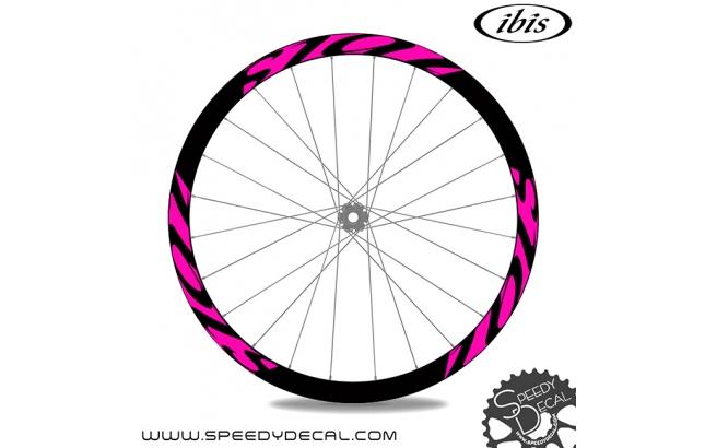 Ibis Cycles 741 carbon - adesivi per ruote
