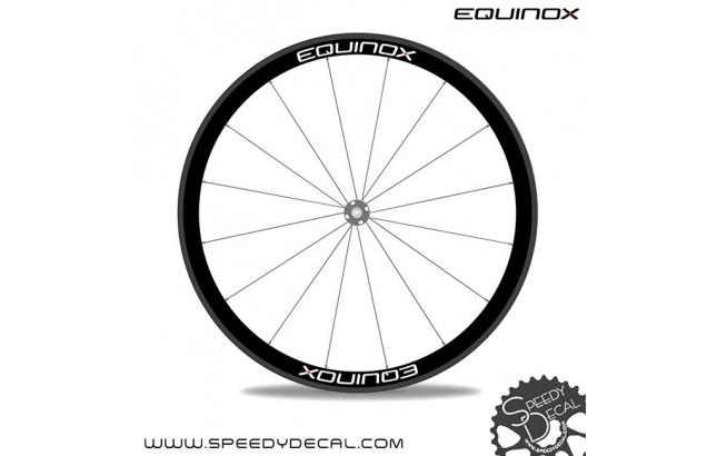 Equinox - adesivi personalizzati per ruote strada/mtb