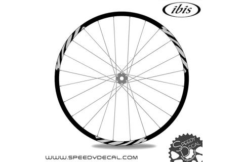Ibis Cycles 942 - adesivi personalizzati per ruote mtb