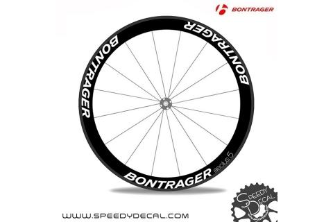 Bontrager Aeolus 5 anno 2015 - adesivi personalizzati per ruote