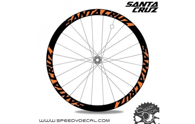 Santa Cruz- adesivi per ruote