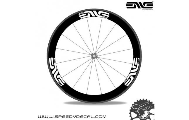 Enve SES 3.4  disc Smart System - adesivi per ruote