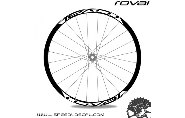 Specialized Roval Fattie 650B 2016 - adesivi per ruote