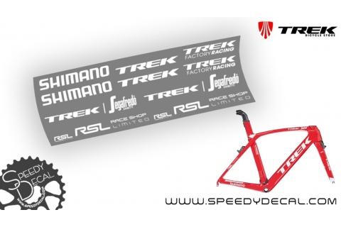 Trek Madone Segafredo Zanetti Race Shop Limited - adesivi personalizzati per telaio