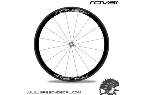 Roval Rapide CLX 40 2017 - adesivi personalizzati per ruote strada