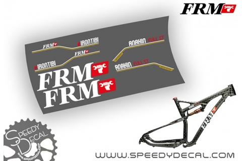 FRM Anakin Full ST - kit adesivi personalizzati per telaio