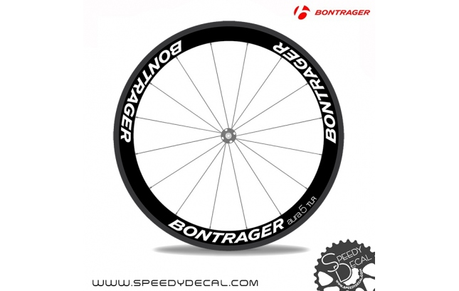 Bontrager Aura 5 anno 2017 - adesivi personalizzati per ruote