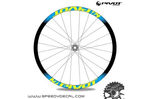 Pivot - adesivi personalizzati per ruote
