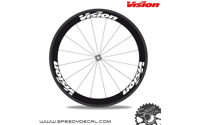 Vision Metron Pro Team - adesivi per ruote