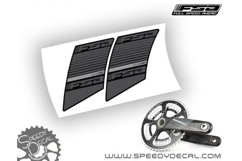 FSA Hollow Carbon -  adesivi personalizzati per pedivelle