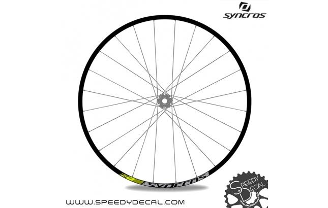 Syncros X 23 - adesivi personalizzati per ruote
