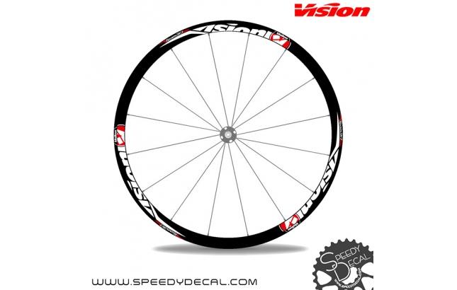 Vision Team 30 disc - adesivi per ruote