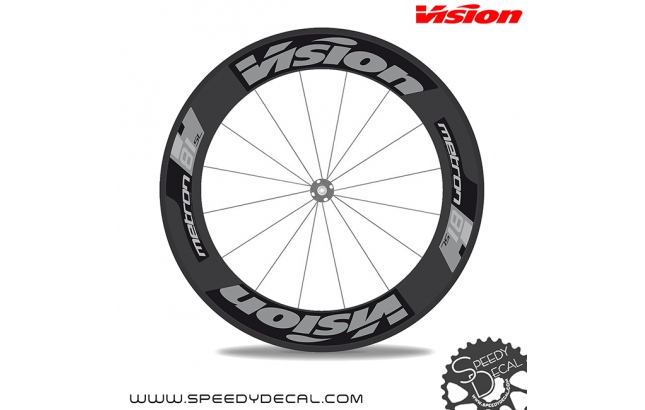 Vision Metron 81 SL - adesivi per ruote
