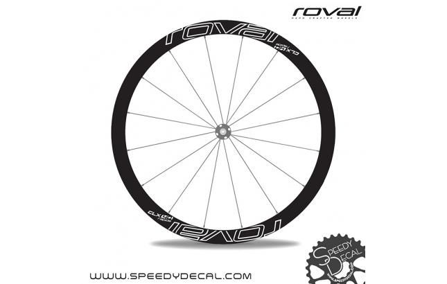 Roval Rapide CLX 40 disc - adesivi per ruote
