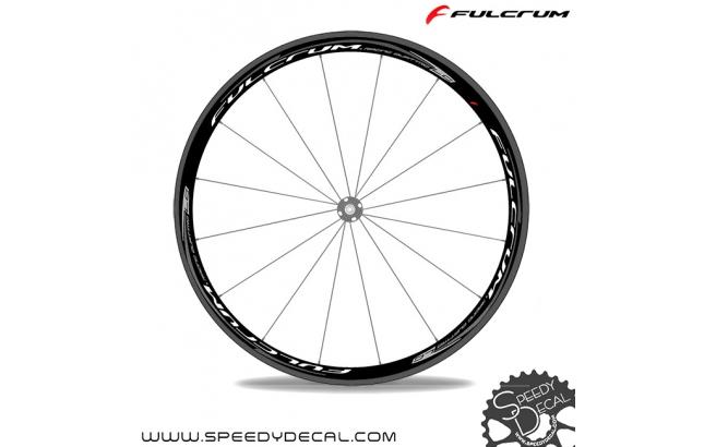 Fulcrum Racing Quattro LG - adesivi per ruote