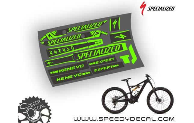 Specialized Turbo Kenevo 2018 - kit grafiche per telaio