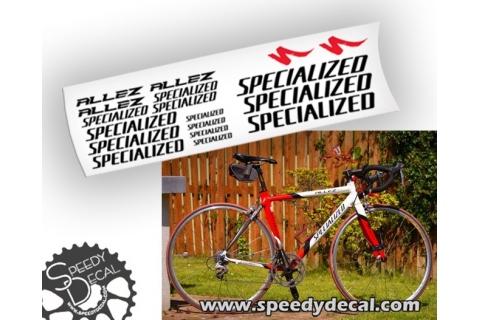 Specialized Allez - kit adesivi personalizzati per telaio