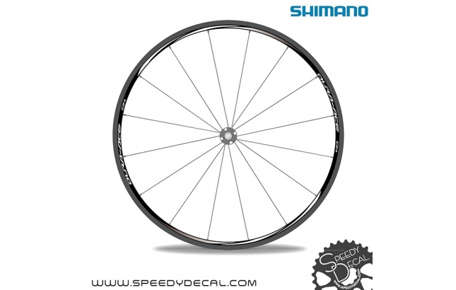 Shimano Dura Ace  C24 - Adesivi per ruote