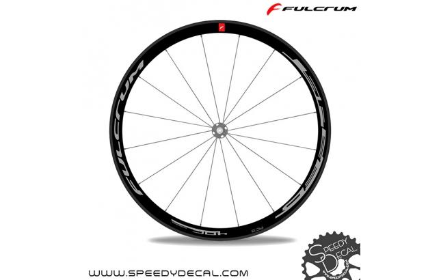 Fulcrum Speed 40C - adesivi per ruote