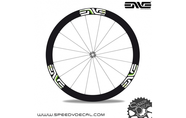 Enve SES 3.4 Disc Team Dimension Data - adesivi per ruote