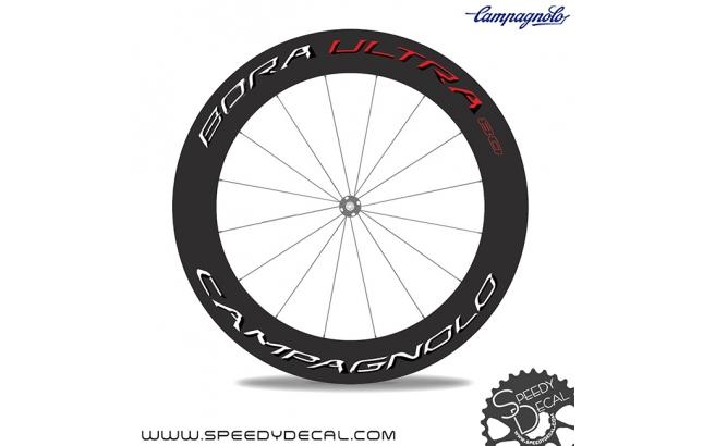 Campagnolo Bora Ultra 80 - adesivi per ruote