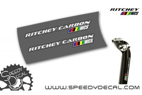 Ritchey WCS Carbon - adesivi per reggisella