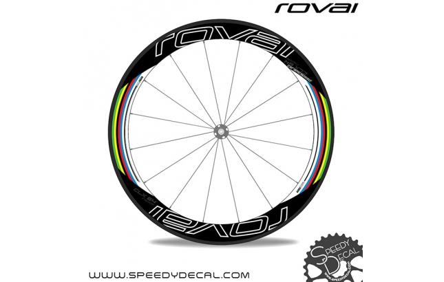 Roval Rapide CLX 64 Iridati Peter Sagan - adesivi per ruote