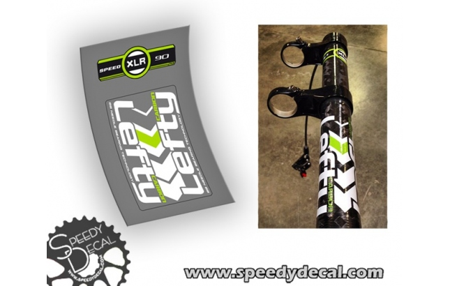 Cannondale Lefty carbon XLR 90mm 2013 - adesivi per forcella