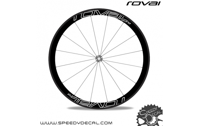 Roval Rapide CL 50 - adesivi per ruote