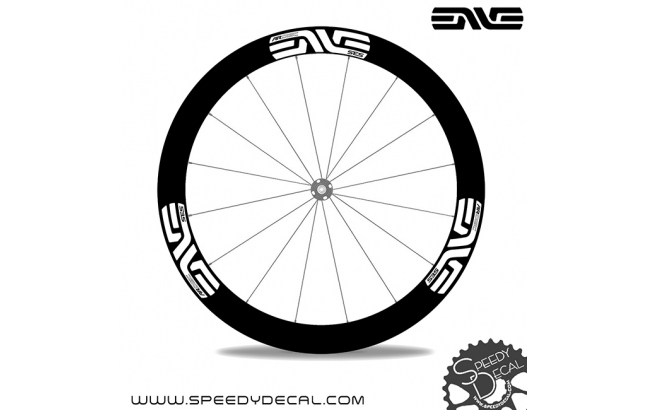 Enve SES AR 3.4 / 4.5 Disc - adesivi per ruote