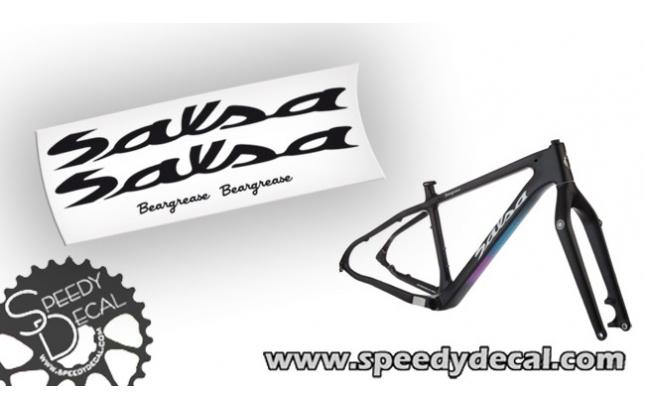 Salsa Beargrease Fat Bike - kit adesivi personalizzati per telaio