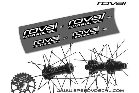 Adesivi per Mozzi Roval Control SL