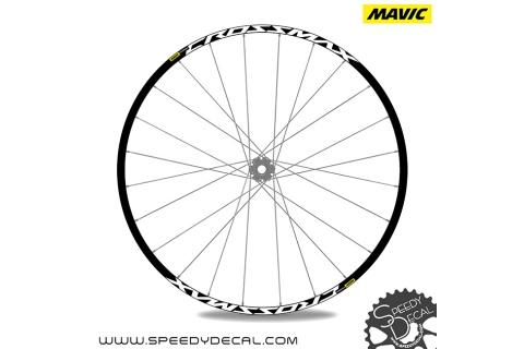 Mavic Crossmax 2017 - adesivi per ruote
