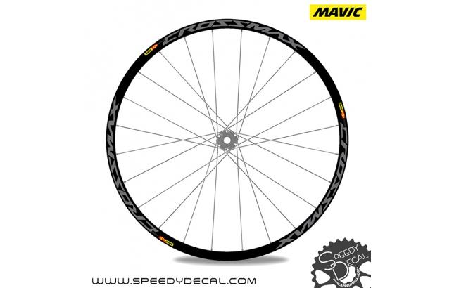 Mavic Crossmax Pro Carbon 2018 - adesivi per ruote