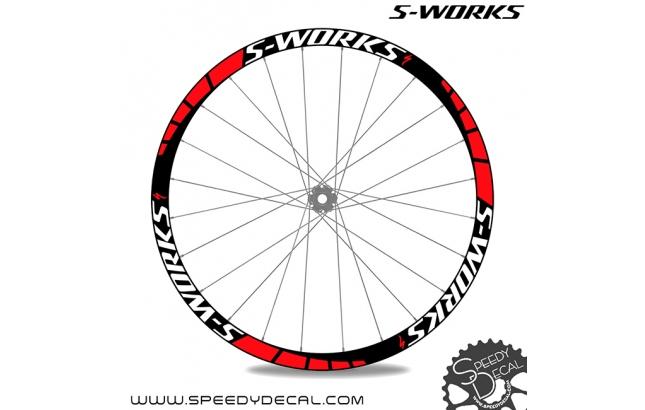 Specialized S-works MTB - adesivi per ruote