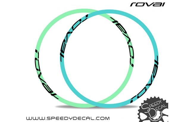 Specialized Kenevo Roval Fattie 650B - adesivi per ruote