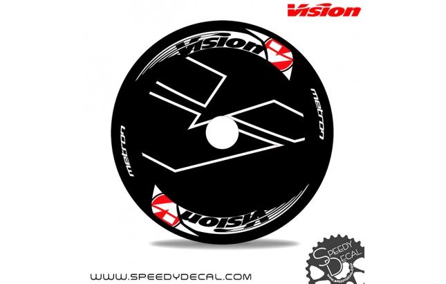 Vision Metron disc 2018 - adesivi per ruota lenticolare