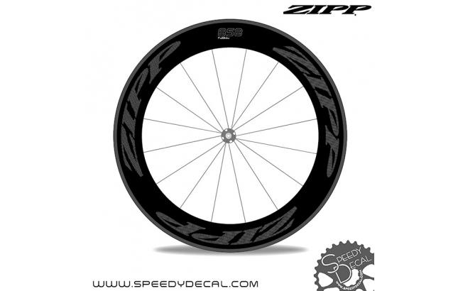 Zipp 858 - adesivi per ruote