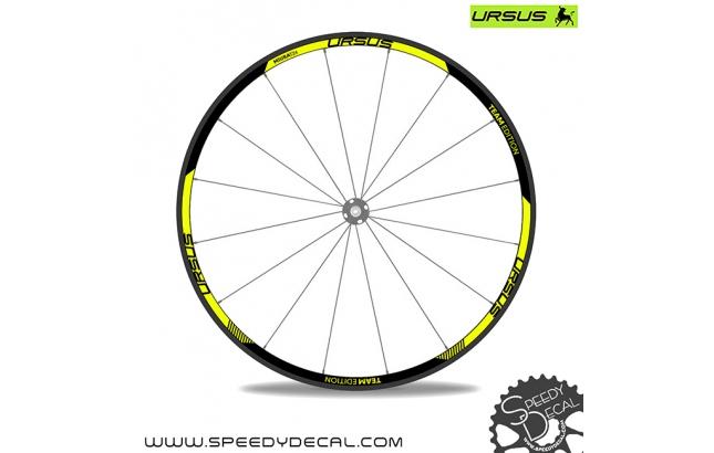 Ursus Miura T24 Team Edition - adesivi per ruote