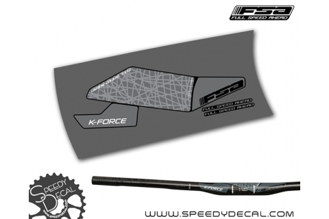 FSA K-force MTB Full Carbon 2018 - adesivi per manubrio