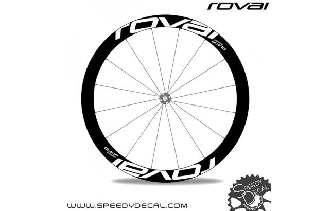 Roval Rapide CL 50 Disc - adesivi per ruote