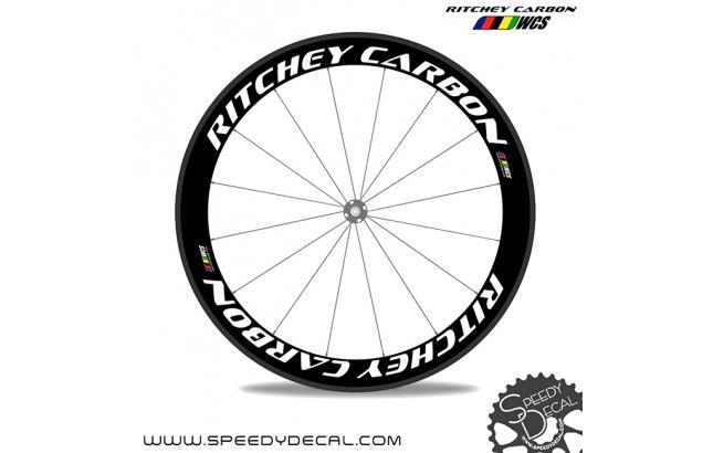 Ritchey Carbon - adesivi per ruote