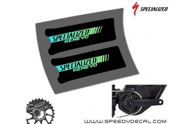 Specialized Turbo Kenevo - adesivi protettivi per pedivelle