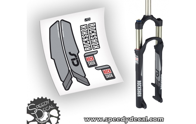 Rock Shox SID world cup 2015 - adesivi per forcella