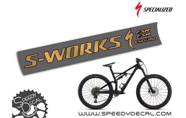 Specialized S-Works Enduro 2018 - adesivi per telaio