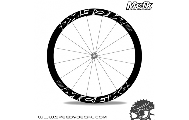 MCFK 45 disc - Adesivi per ruote