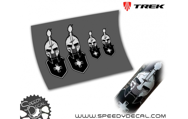 Spartacus Cancellara Trek - kit adesivi misti