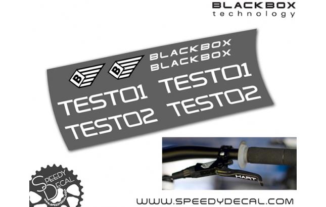 Sram Blackbox - adesivi personalizzati per leve