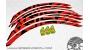 Sram Rise 60 carbon - 2016 - adesivi personalizzati per ruote mtb