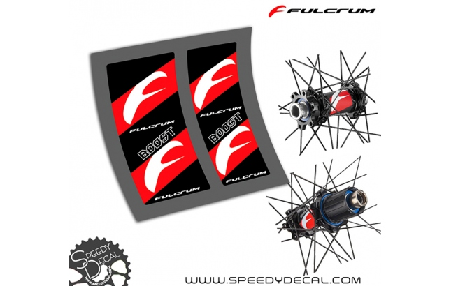 Mozzi Fulcrum Red Metal 3 - adesivi per Mozzi